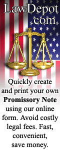 American Legal Document Promissory Note